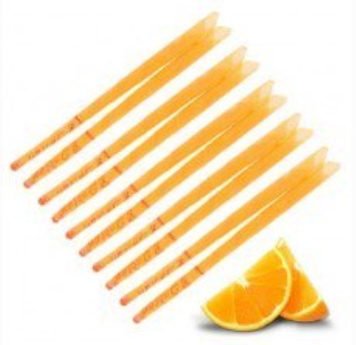 Orange ear candles