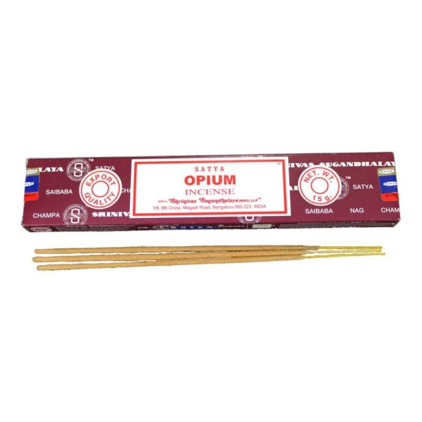 Satya Opium Incense Sticks