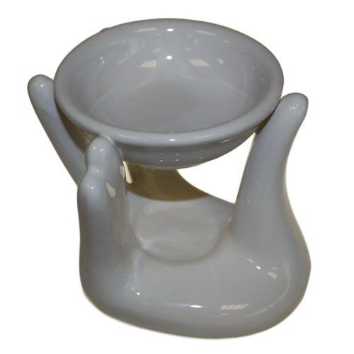 White Hand Oil Burner