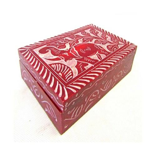 Red Elephant Storage Box
