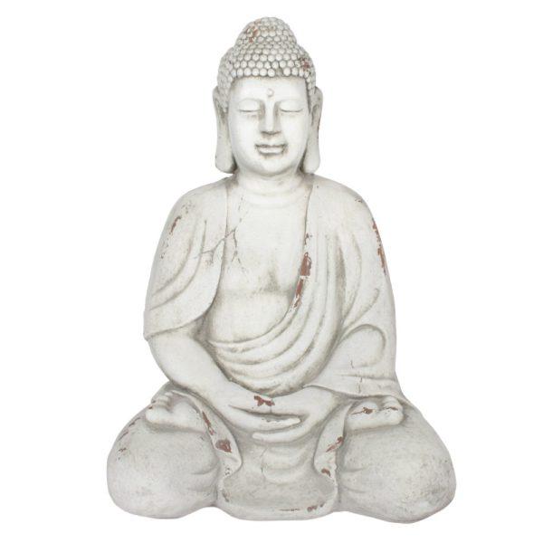 Garden Buddha White Large