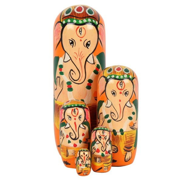 Ganesh Russian Dolls