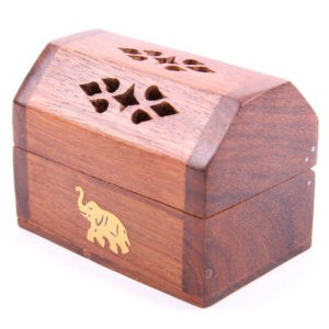 Incense Cone Burner Box