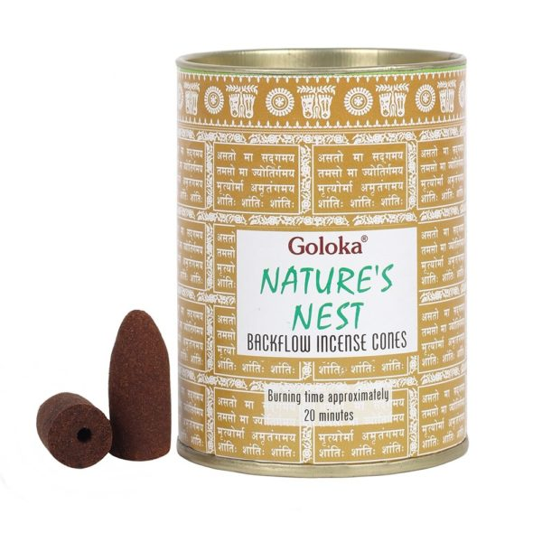 Goloka Natures nests Incense cones
