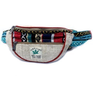 pure Hemp and cotton bum bag