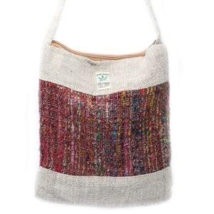 Hemp and silk bag