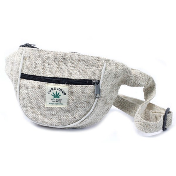 Pure hemp bum bag