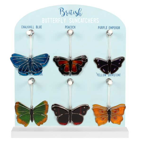 British Butterfly Suncatchers