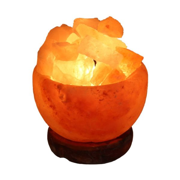 Salt Lamp Fire Bowl