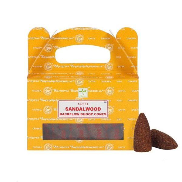 Sandalwood backflow cones
