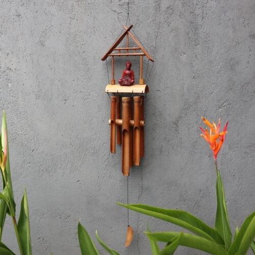 Bamboo buddha windchime