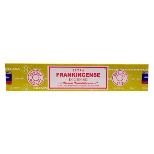satya frankincense incense sticks