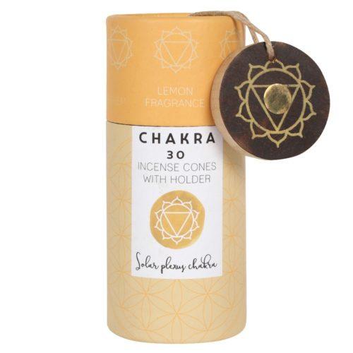 Solar Plexus chakra incense cones