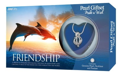 Friendship pearl gift set