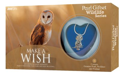 Owl Pearl Gift Set