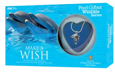 Dolphins Pearl Gift Set