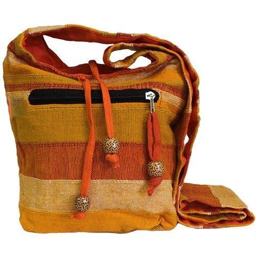 nepalese bag orange