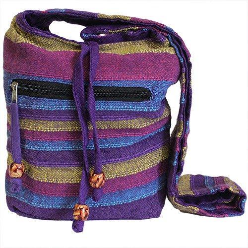 Nepalese bag purple