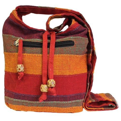 red nepalese bag