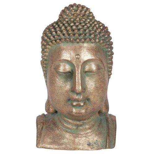 garden buddha head
