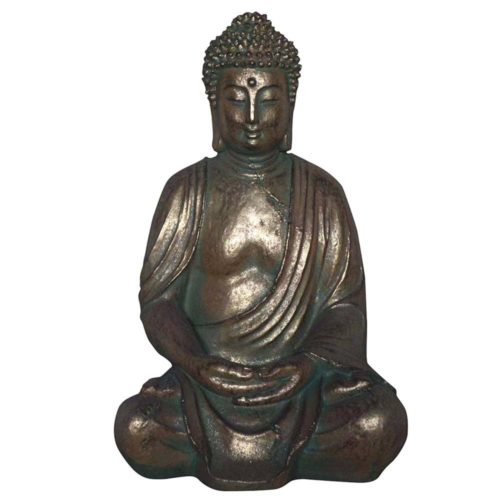 sitting garden buddha