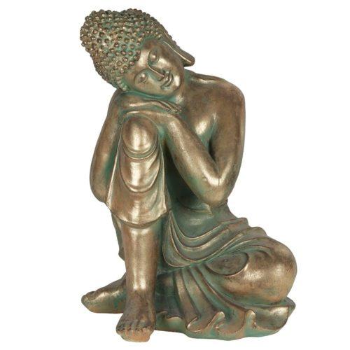 resting garden buddha