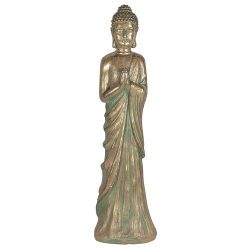 standing garden buddha