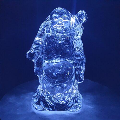 crystal buddha standing