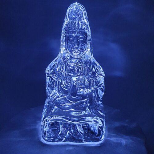 Kwan Yin crystal