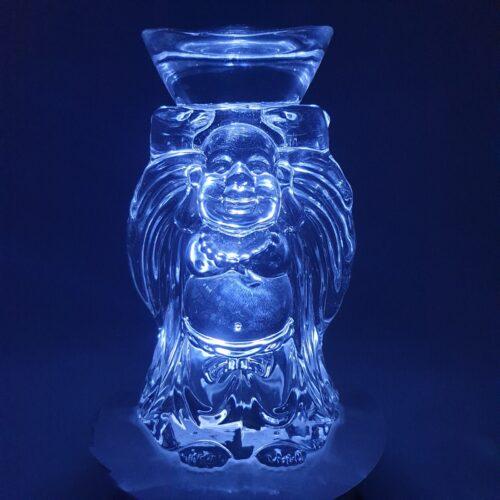 crystal standing buddha