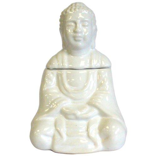white buddha oil burner