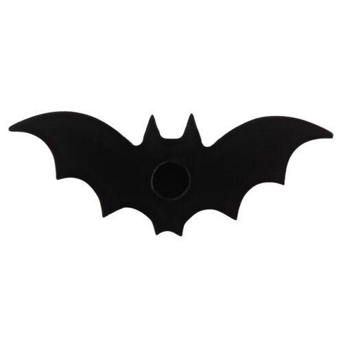 bat candle holder